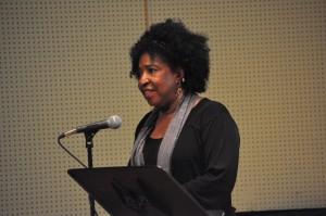 Jane Sapp speaking
